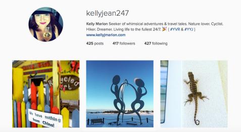 Kelly J Marion Instagram