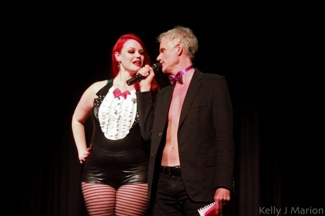 Ruby Roxx and MC Ken Lawson