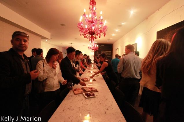 Taste Resto & Lounge long table