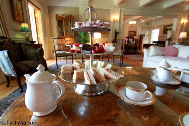 Afternoon tea at Rowena's