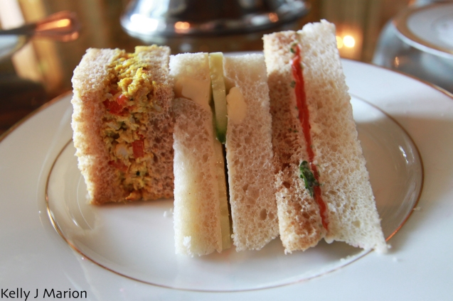 Afternoon tea at Rowena's - Sandwiches