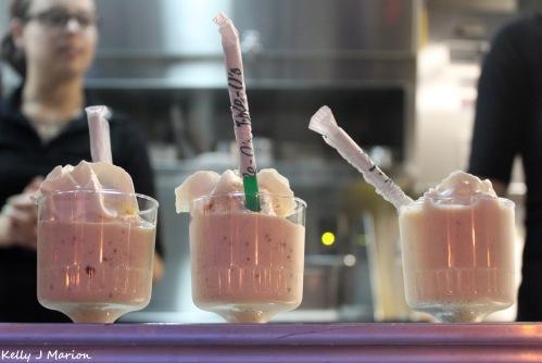 Whitespot milkshakes