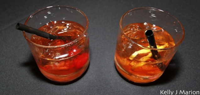 Manhattan and an Old Fashioned