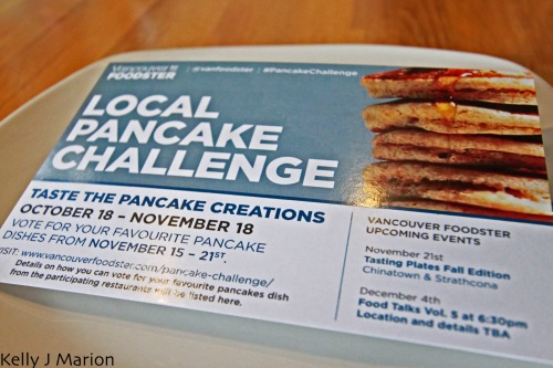 Local Pancake Challenge Voting Card