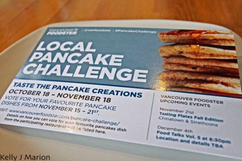 Local Pancake Challenge Voting Card