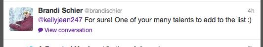 Brandi's Tweet
