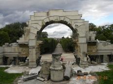 Greek Ruins at Schönbrunn Palace