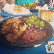 Chicken! Chicken! Jerk Lunch