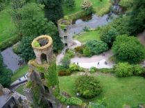 View from atop of Blarney Castle