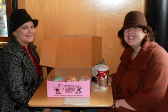 Voodoo Donut friends