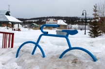 Biking in Whitehorse
