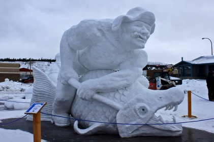 Snow Sculpture Contest