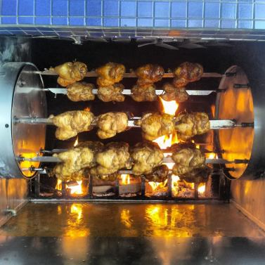 Rotisserie at Chicken! Chicken!