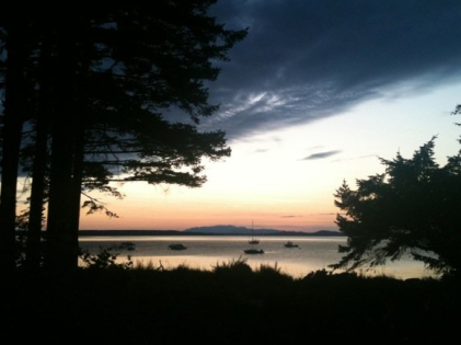 Sunset on Savary