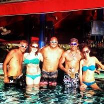 Grand Cayman, Billy Bones Pool Bar