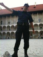 Wawel Castle security