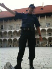 Wawel Castle security