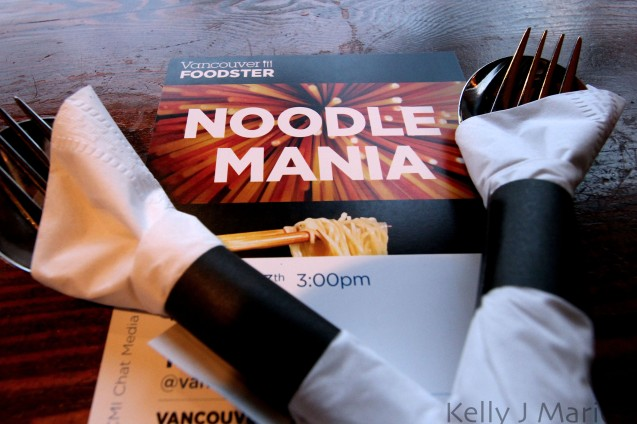 Noodle Mania Stamp Card