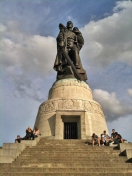 Soviet memorial near Tiergarten