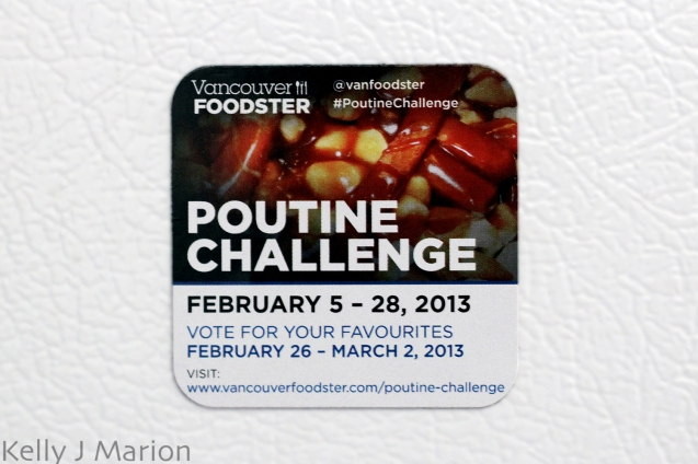 Poutine Challenge Feb 5th-28th