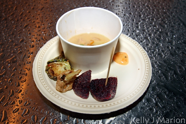 Le Tigre - Beets, Cauliflower, Brussel Sprouts, Miso Chowder