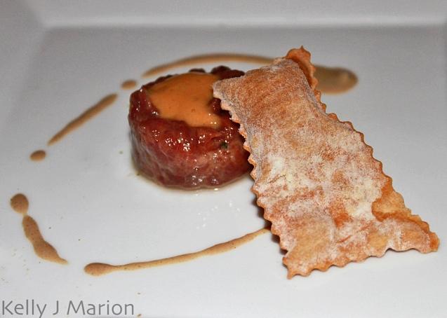 Venison tartare (Big Night 2012)