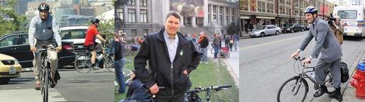 Gregor Robertson, Bike