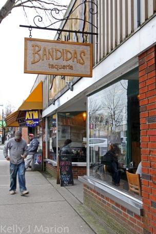 Bandidas Taqueria  Commercial Drive