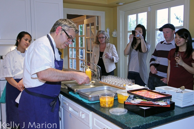 Celebrity Chef Cooking Class with Bruno Feldeisen of YEW
