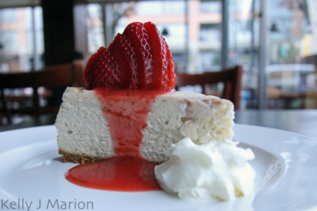 Strawberry Cheesecake - Gramercy Grill