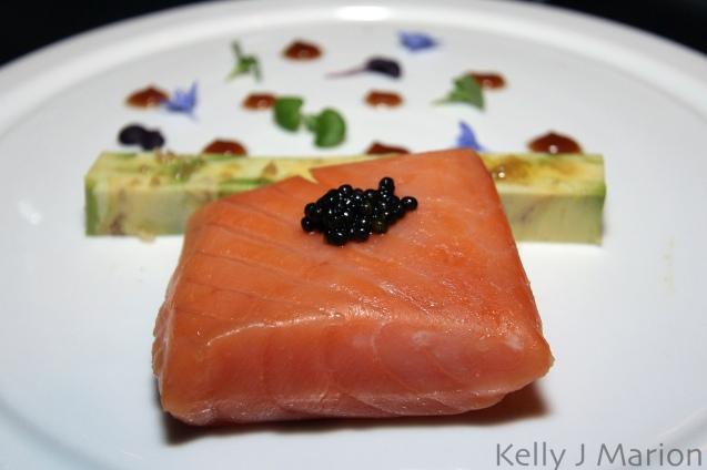Warm a la Minute Smoked Skuna Bay Salmon