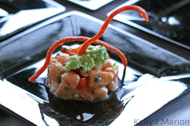 Ora King Salmon Ceviche with Avacado Relish