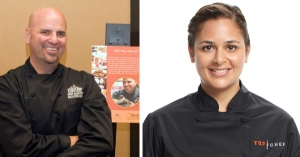 Chef Perry and Chef Antonia
