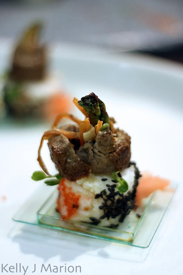 Marinaded Beef Tenderloin Negamaki
