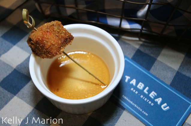 Tableau Bar Bistro | Mushroom & Oxtail Croquette