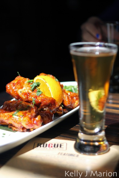 Rogue Kitchen & Wet Bar | Kimchi Wings