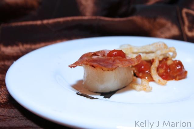 CaféŽ Pacifica | Chorizo Seared Qualicum Bay Scallop