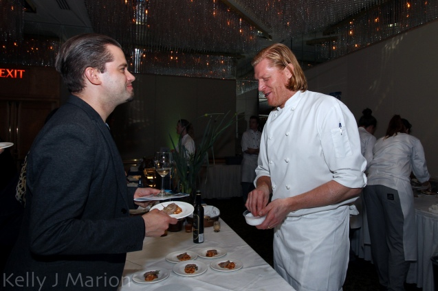 Kurtis Kolt and La Pentola della Quercia's Chef Lucais Syme