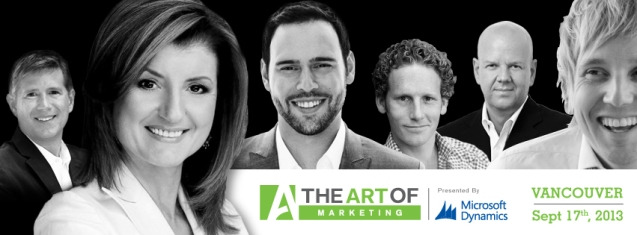 The Art of Marketing Vancouver - Sept 17