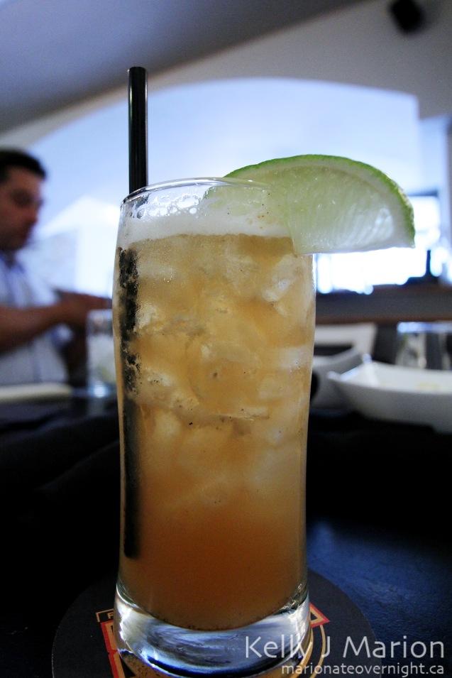 Vanilla Bourbon Sour
