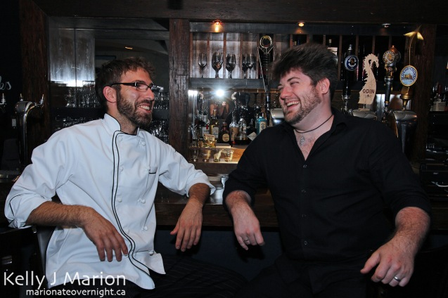 Chef Benjamin and The August Jack's Manager