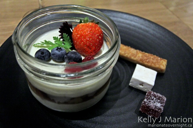 Elder Flower Panna Cotta