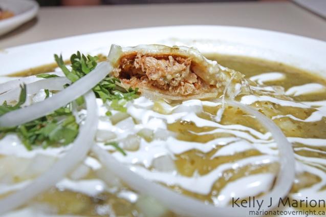 La Mezcaleria's Enchilada