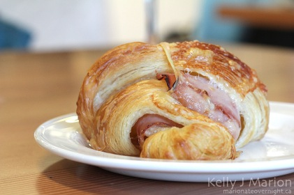 Temper Chocolate & Pastry, Ham & Cheese Croissant