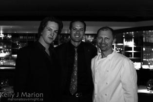 Stephen Lane, Enguerrand Baijot, Chef Frank Pabst