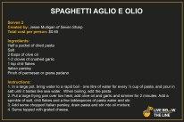 Dinner - Spaghetto Aglio e Olio